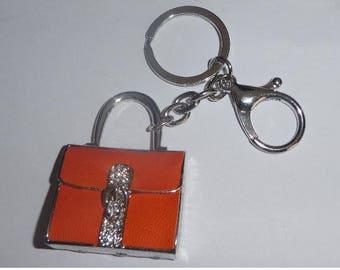 Designer Inspired Handbag Purse Keyring Lanyard phone fob