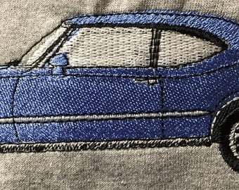 """Embroidered Classic Car """"Oldsmobile 442"""" Shirt"""