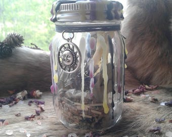 Witches Bottle, Protection Jar