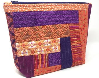 Knitting Project Bag - Large Size