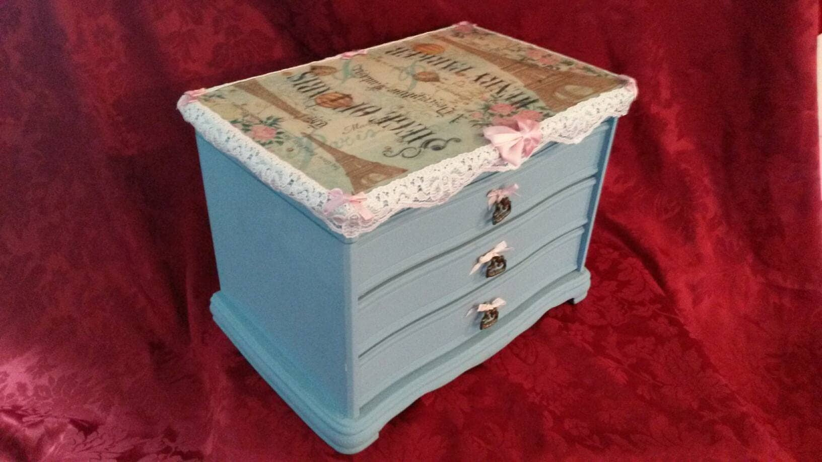 Extra large jewelry box paris jewelry jewellery for Girls large jewelry box