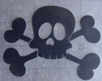 Sticker pirate skull