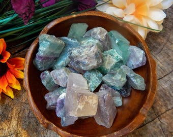 Fluorite, Chakra, Crystal, Raw