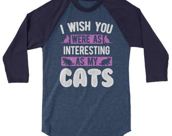 Cat shirt cat shirts funny cat shirt cat sweater - interesting as my cats gift for cat mom