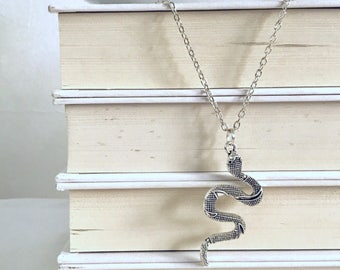 Snake necklace || Slytherin necklace