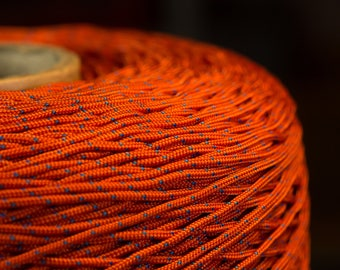 2 mm orange Nylon Cord