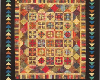 nifty ninepatches quilt pattern two sizes free usa shipping