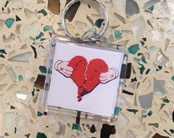 808s and Heartbreak keychains
