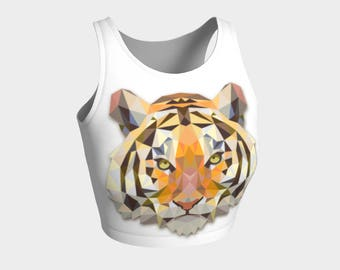 Bengal Tiger Crop Top