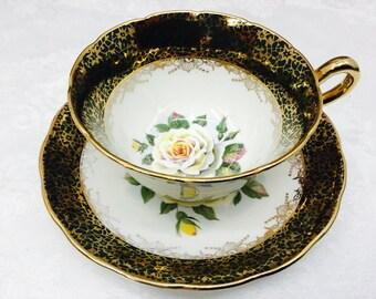 Regency teacup and saucer.