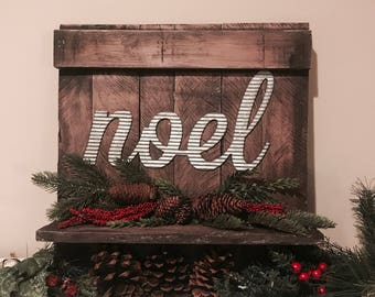 Noel Christmas Shelf