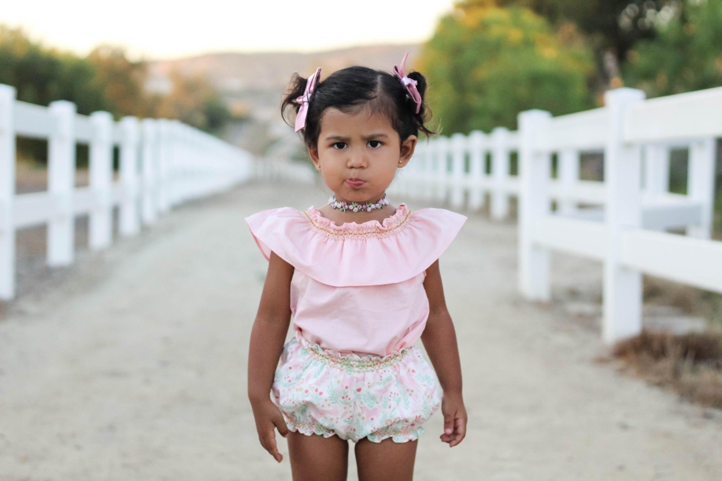 Girl Bubble Shorts Boho Baby Bloomers Baby Girl Bubble Short