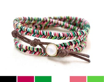 Watermelon Bracelet, Watermelon Gifts, Fruit Bracelet, Beach Bracelet, Summer Gift, Summer Bracelet, Beach Gifts, Hippie Gift for Girls