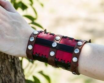 Women's Steampunk Wrist Cuff