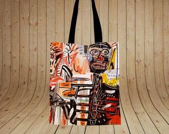 Philistines – Jean-Michel Basquiat Printed tote bag