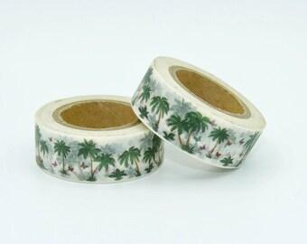 Masking Tape Washi Tape gift packaging fun kawaii decoration wedding scrapbooking Palm