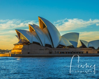 Sydney Opera House @ Dawn Digital Download, Professionally shot limited edition image. Sydney Harbour, Sydney Opera House, Sydney Sunrise