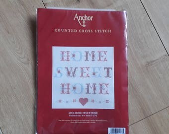 Anchor ACS16 Home Sweet Home Counted Cross Stitch Kit,