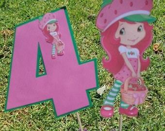 Strawberry shortcake Birthday party,