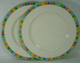 Villeroy & Boch Twist Alea Caro Two Dinner Plates