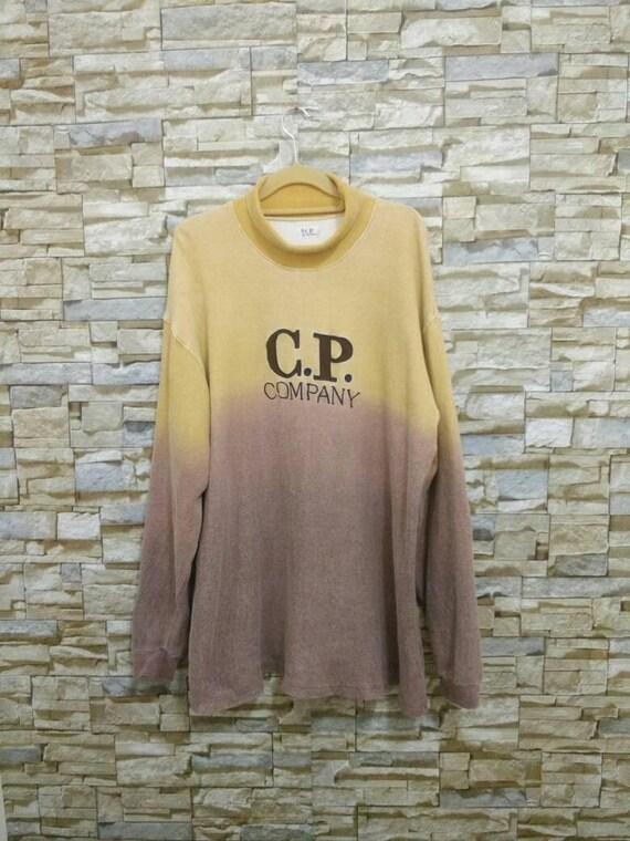 C.P Company Vintage Sweatshirt Sweater Shirt Pullover Rare Designer Fashion C.P.Company Embroidered Logo Ideas from Massimo Osti Italy 4 vCUKM3MxBP
