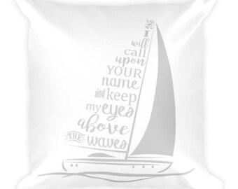 Hillsong United Oceans Deep Square Pillow from Glendi Designs