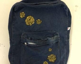 Gold Rose Backpack