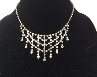 Stunning Rhinestone Necklace