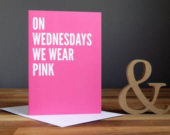 Mean Girls Quote Greetings Card Pack (x13)