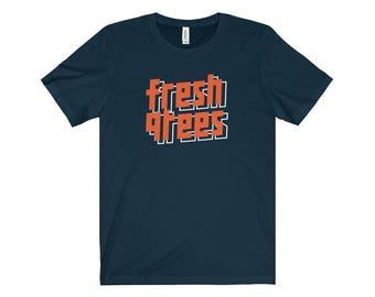 90S Hip Hop Fresh Clothing 002 Hip Hop Tshirt Retro Streetwear Hip Hop Fly Blazed Bling Dope Cool Swag
