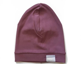 Bamboo Soft Beanie | Rose Brown