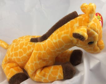 Ty Beanie Baby Twigs the Giraffe Born May 19, 1995  Original MWT  Gift Quality