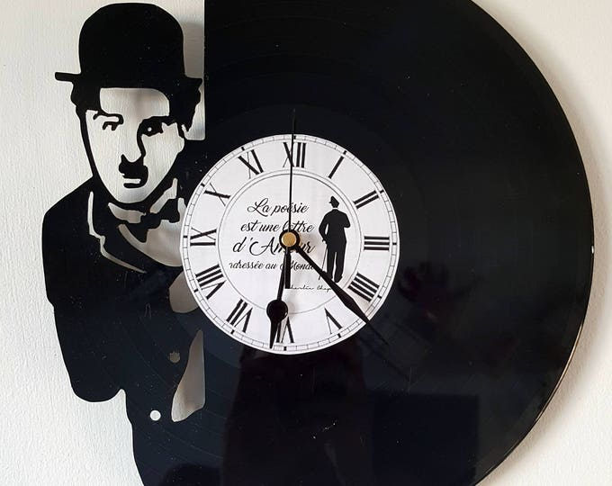 Vinyl 33 clock towers theme Charlie Chaplin