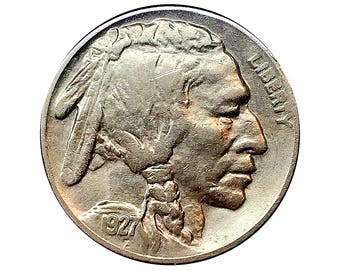 1927 S Buffalo Nickel - XF / EF / Extra Fine
