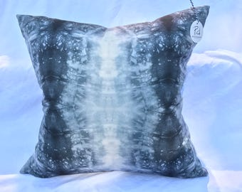 Grey Watercolor Pillow