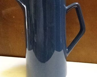 Vintage Blue & White Coffee Pot/ Tea Pot/Afternoon Tea/Replacements/1978