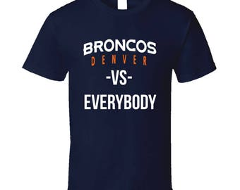 Denver broncos shirt | Etsy
