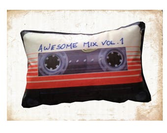 Guardians of the Galaxy Awesome Mix Vol. 1 Cassette Cushion for in Car
