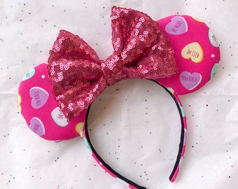 Sweetheart Candy Valentine's Day Mouse Ears