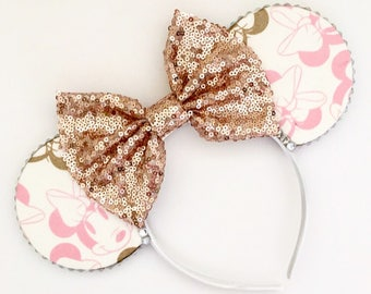 The Pretty Mouse - Handmade Mouse Ears Headband