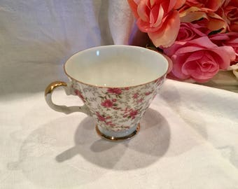 Vintage Lefton, Rose Chintz china tea cup