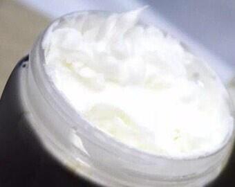8oz Handmade goats milk & honey butter lotion. Free shipping.