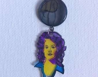 Electric Ellen Ripley Charm Necklace