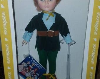 Vintage Effanbee Peter Pan Collectors Doll in Orginal Box 1197