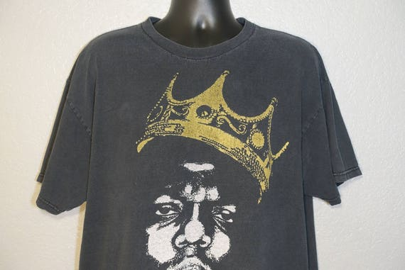 RARE Notorious BIG Biggie Smalls - Brooklyn Mint - Large Vintage T-Shirt