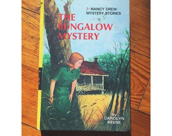 1960 Edition of Nancy Drew and the Bungalow Mystey