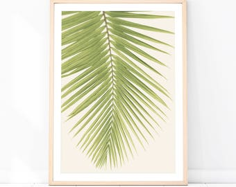 Bon Tropical Wall Art Tropical Print Palm Frond Poster Tropical Wall