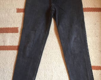 Black High Waist Skinny Jeans XS Small