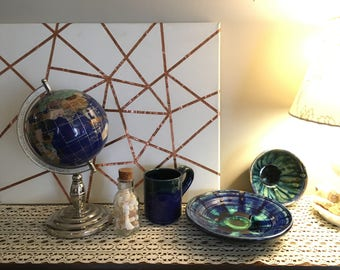ocean : handmade pottery set