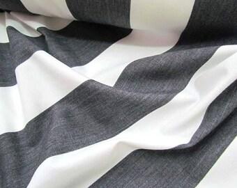 Wide Stripe Poplin